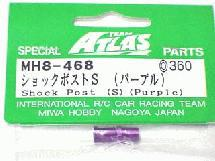 Alloy Shock Post Short Type Purple for Atlas YM34T