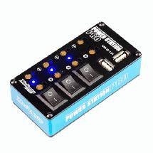 Muchmore Racing Power Station Pro Multi Distributor Blue (w/ USB Charging Port)