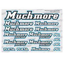 Muchmore Racing Muchmore Racing Color Decal Blue