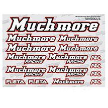 Muchmore Racing Muchmore Racing Color Decal Red