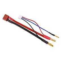 Muchmore Racing LiPo Cell Balancer 2S Multi Charging Cable JST-XH & 2P