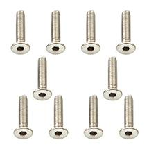 Muchmore Racing Stainless Screw Flat Head 3x15mm (10pcs)