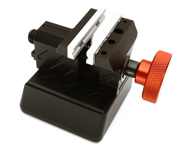 Billet Machined Tabletop Mini Bench Vise for 1/10 to 1/8 Scale Model
