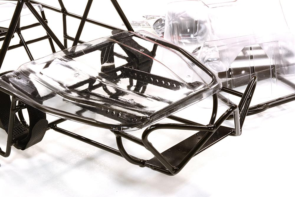 1/10 Steel DIY Roll Cage Tube Frame Chassis for Axial SCX-10 & AX10 ...