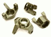 Billet Machined Steering Blocks & Caster Blocks for Axial 1/10 Wraith 2.2