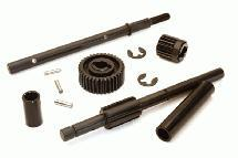 Transmission Shafts & Gears for Axial 1/10 SCX10 II w/ LCG Transfer Case
