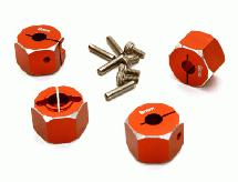 12mm Hex Wheel (4) Hub 9mm Thick for 1/10 Traxxas, Axial, Tamiya, TC & Drift