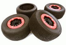 Tires, Inserts & Wheels for 1/10 RC Short Course Off-Road