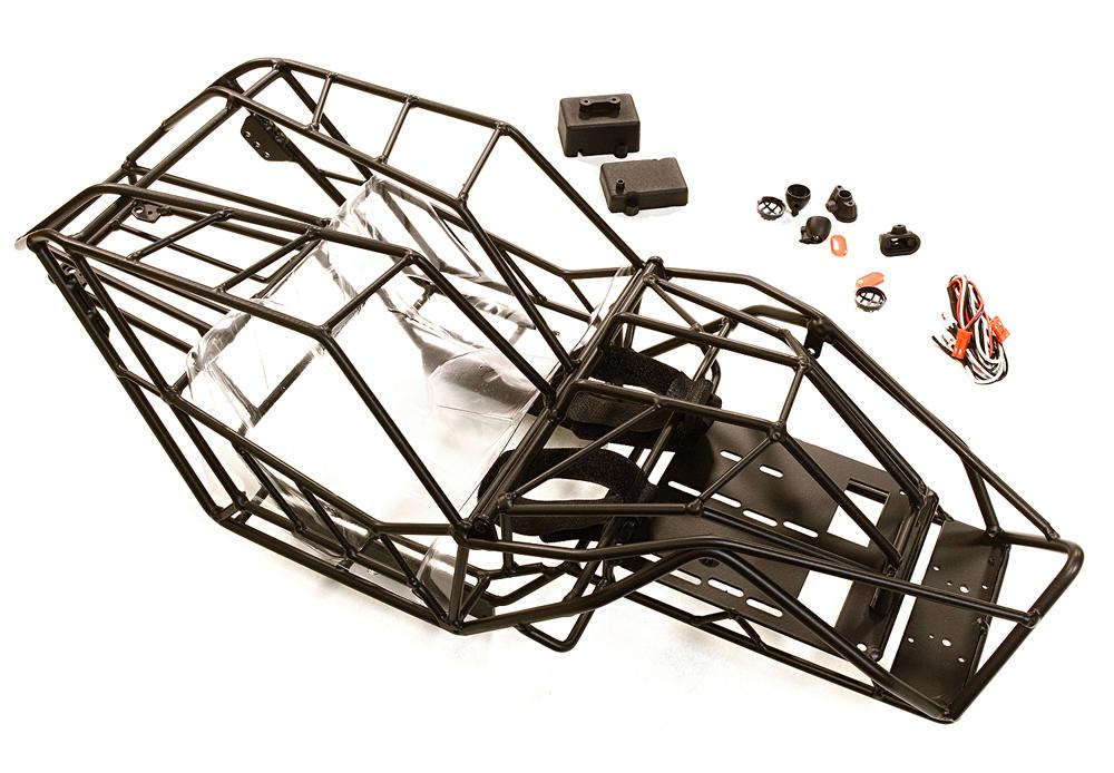 Realistic Scale 2.2 Roll Cage for 1/10 Axial Wraith All Terrain Rock Racer