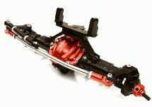 Complete 4-Link Front Axle w/ Internals for Axial SCX-10 & Custom 1.9 Crawlers