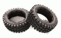 Type 66067-1 Front Tire Set (2) for HPI 1/5 Baja 5B & 5B2.0