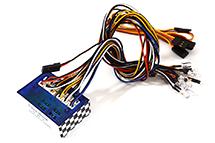 Complete LED Light (12) System w/ Control Box to RX for 1/10 Scale RC