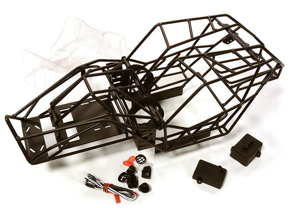 Realistic Scale Steel Roll Cage for 1/10 Axial Wraith 2 2