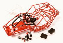 Realistic Scale Steel Roll Cage for 1/10 Axial Wraith 2.2 All Terrain Rock Racer