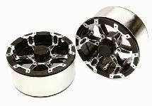 High Mass Beadlock Aluminum 1.9 Wheels Spoke-6 for 1/10 Scale Crawler
