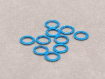 5mm x 0.5mm Aluminium Bore Washer (Light Blue 10 Pcs)