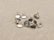 3 x 4mm Machine Type Titanium Countersunk Hex Screw (10 Pcs)
