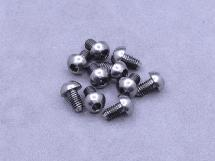 3 x 5mm Machine Type Titanium Button Head Hex Screw (10Pcs)