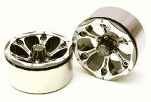 High Mass Beadlock Aluminum 1.9 Wheels Spoke-6 Type B for 1/10 Scale Crawler