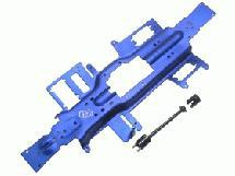 3Racing 330 Long Wheel Base Convention Chassis - Blue for Traxxas 1/10 Revo