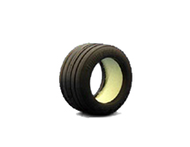 F103 Front Grooved Tire (Type-S/Rescue)