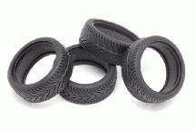 RIDE Revolution (Re25) High Grip Belted Tires (4) for 1/10 Touring Car