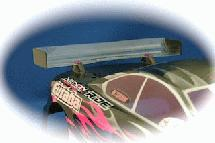 RIDE High Downforce Wing for 1/10 Touring Car IFMAR Standard Size