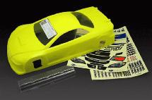 RIDE Subaru Impreza WRX STI 4 Door Touring Car Body (Yellow) (Light Weight)