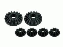 3Racing Gear Differential Gear Set- Ver. 2 For #SAK-65 Zero S, FGX, XI, FF