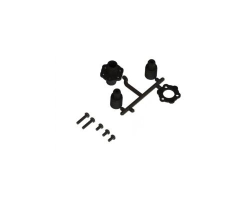 Plastic Solid Axle For Sakura D3