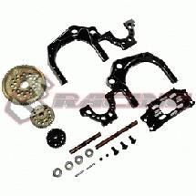 Rear Gear Transmittion ratio 1.9(BLACK) For D4