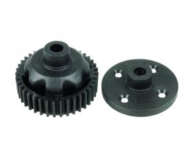 3Racing Gear Differential Plastic Replacement - Ver. 2 For #SAK-F01, FGX