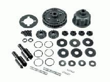 3Racing Heavy Duty Gear Diff Set For Sakura Zero S