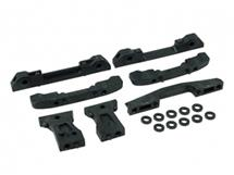 3Racing Suspension Mount Set For Sakura Zero S
