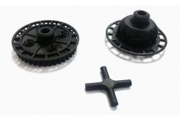 40T Gear Differential Plastic Replacement For Sakura Ultimate