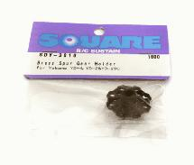 Square R/C Brass Spur Gear Holder (for Yokomo YD-4, YD-2, and YD-2TC)