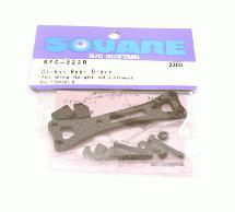 Square R/C Carbon Rear Brace (for Wing Height Adjustment)