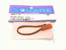 Square R/C BEC Female/Tamiya Male Conversion Connector (for Tamiya Light Unit)