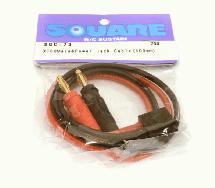 Square R/C XT-60 Male Power Jack Cable (400mm)