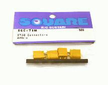 Square R/C XT-30 Connectors (4x Male)