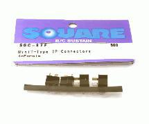 Square R/C Mini T-Type 2P Connectors (4x Female)