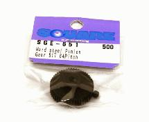 Square R/C Hard Steel Pinion Gear (64-pitch) 51T