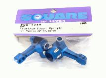 Square R/C Aluminum Knuckle GF-01, City turbo Blue