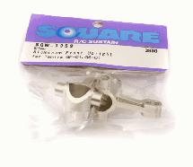 Square R/C Aluminum Knuckle GF-01, City turbo Silver