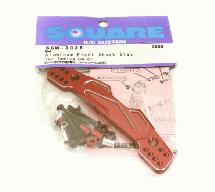 Square R/C Front Damper Stay Red (Tamiya G6-01)