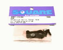Square R/C Aluminum Servo Saver Arm (for Tamiya M-03, M-04, MF-01X) Black