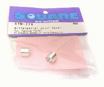 Square R/C Differential Joint Cover (Tamiya T3-01)