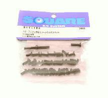 Square R/C 70-75 Duralumin Hex Screw Upper Set for Yokomo BD 8