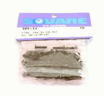 Square R/C Steel Hex Screw Set (for Tamiya WR02C)