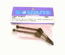 Square R/C Universal Drive Shaft for Wide Suspension (for Tamiya WR02 and GF-01)